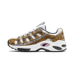 PUMA SNEAKERS CELL ENDURA ANIMAL KINGDOM UNISEX ANIMALIER SCARPA UOMO DONNA WHITE BROWN BIANCA MARRONA 370926 01 SIZE 37 38 39 40 41 42 43 44