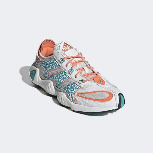 ADIDAS SCARPE FYW S-97 SNEAKERS EE5306 MAN UOMO STREETSTYLE MULTICOLOR WHITE GREEN ORANGE BIANCO VERDE ACQUA ORANGE SIZE TAGLIA 40 41 42 43 44 45 ADIDAS ORIGINALS