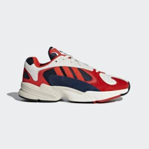 SCARPE SNEAKERS YUNG 1 UNISEX UOMO DONNA BLUE RED WHITE BLU ROSSO BIANCO STREET B37615 SIZE 36 37 38 39 40 41 42 43 44 45