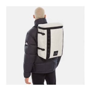 THE NORTH FACE ZAINO BASE CAMP FUSE BOX LUNAR BACKPACK UNISEX UOMO DONNA BLACK WHITE OFF WHITE BIANCO NERO ONE SIZE TAGLIA UNICA TRAVEL BAG MOUNTAIN TRACKING