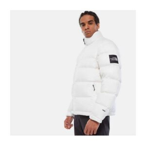 THE NORTH FACE GIACCA NUPTSE 1992 JACKET WOMAN MAN UNISEX UOMO DONNA WHITE BIANCO TG XS S M L XL