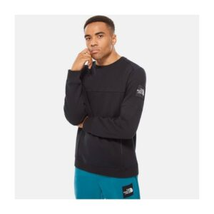 THE NORTH FACE FELPA GIROCOLLO UOMO FINE 2 SWEATER UNISEX UOMO DONNA BLACK NERO TAGLIA S M L XL CODICE M FINE 2 CREW SWEATER