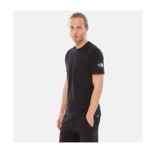 THE NORTH FACE T-SHIRT UOMO FINE 2 TEE UOMO UNISEX UOMO DONNA BLACK NERO TAGLIA S M L XL CODICE T-SHIRT TEE FINE 2