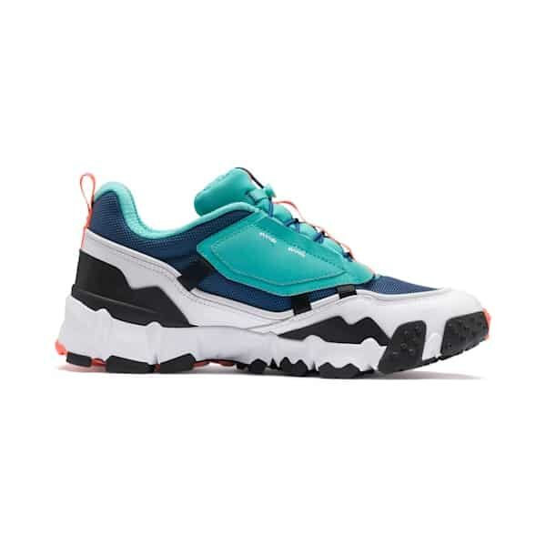 PUMA SNEAKERS TRAILFOX OVERLAND GALAXY UNISEX WOMAN MAN UOMO DONNA TRAIL MULTICOLOR BLUE BLACK WHITE BLU BIANCO NERO TAGLIA 40 41 42 43 44 45 CODICE 369824 02