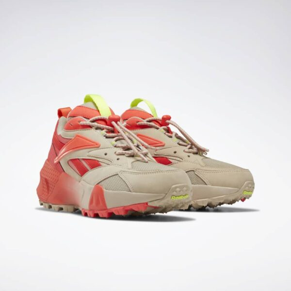 REEBOK SCARPE AZTREK DOUBLE MIX TRAIL WOMAN DONNA ORANGE FLUORESCENT WHITE ARANCIONE BIANCO TAGLIA 36 37 38 39 40 EF9140