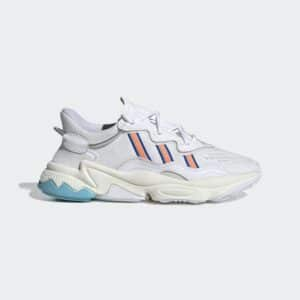 ADIDAS SCARPE OZWEEGO UNISEX MAN WOMAN UOMO DONNA SNEAKERS EE7009 MAN UOMO STREETSTYLE OFF WHITE BIANCO ORANGE ARACIO AZZURRO LIGHT BLUE SIZE TAGLIA 37 38 38 2/3 39 40 41 1/3 42 42 2/3 43 44 45 ADIDAS ORIGINALS EF4290