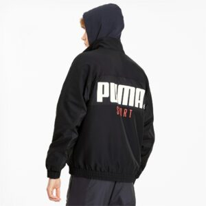 PUMA JACKET TAILORED FOR SPORT UOMO DONNA MAN WOMAN BLACK NERO UNISEX 596464-01 TAGLIA SIZE S M L XL