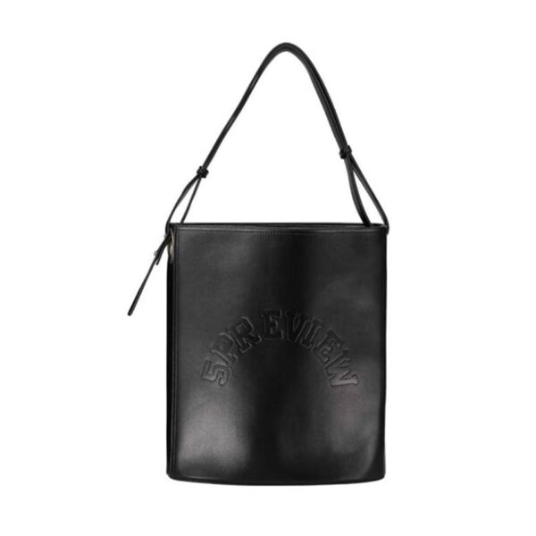 BORSA NIMES 5PREVIEW BORSA A MANO BAG HANDBAG BLACK NERA ACCESSORIES SHOPPING ONE SIZE W505