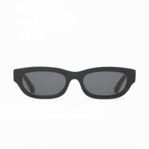 HUMA SUNGLASSES OCCHIALI DA SOLE UNISEX BLACK NERO MAN WOMAN TOJO