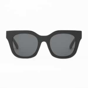HUMA SUNGLASSES OCCHIALI DA SOLE UNISEX BLACK NERO MAN WOMAN BLU