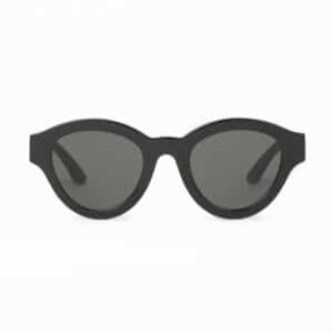 HUMA SUNGLASSES OCCHIALI DA SOLE UNISEX BLACK NERO MAN WOMAN DUG