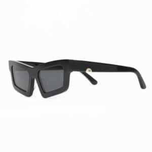 HUMA SUNGLASSES OCCHIALI DA SOLE UNISEX BLACK NERO DONNA WOMAN TILDE