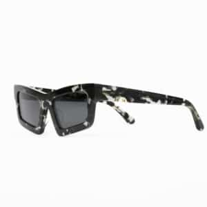 HUMA SUNGLASSES OCCHIALI DA SOLE UNISEX BLACK NERO DONNA WOMAN TILDE AVANA