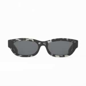 HUMA SUNGLASSES OCCHIALI DA SOLE UNISEX BLACK NERO MAN WOMAN TOJO AVANA
