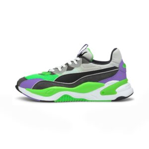 PUMA SNEAKERS SCARPA GINNICA UNISEX UOMO DONNA WOMAN MAN RS-K2 INTERNET EXPLORER 373309-02 GREEN WHITE BLACK GREY VERDE BIANCO NERO GRIGIO