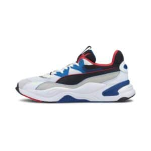 PUMA SNEAKERS SCARPA GINNICA UNISEX UOMO DONNA WOMAN MAN RS-K2 INTERNET EXPLORER 373309-04 WHITE BLACK BLUE RED BIANCO NERO BLU ROSSO